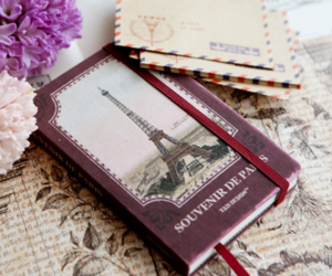 paris, book, and vintage image