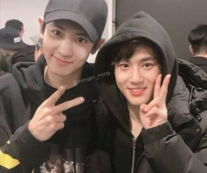 exo, suho, and chanyeol image