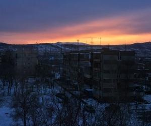 облака, небо, and зима image