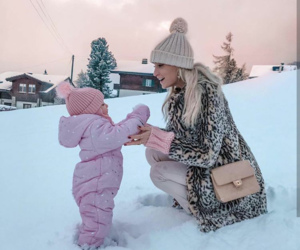 winter, fashion, and baby image