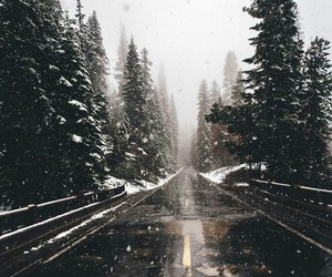 inspiration, snow, and road image