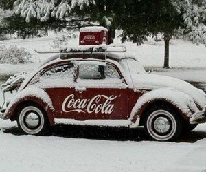 snow, car, and winter image