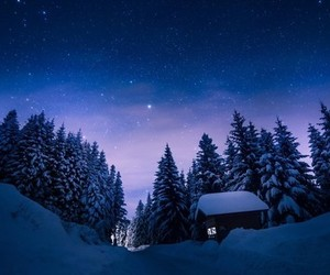 stars, night, and beautiful image