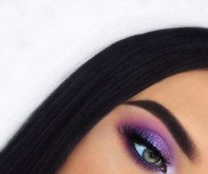 makeup and purple image