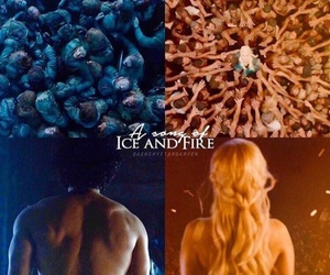 jon snow, game of thrones, and daenerys targaryen image