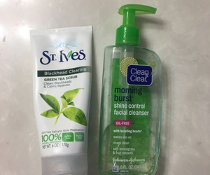 clean & clear, skin care products, and st.ives image