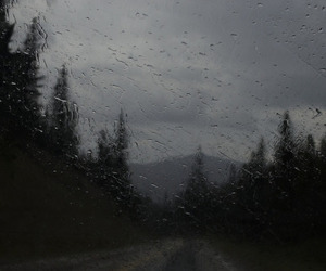 hipster, photography, and rain image