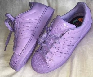 shoes, supercolor, and adidas image