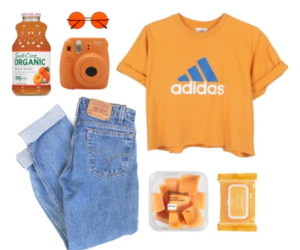 adidas, cool, and peach image