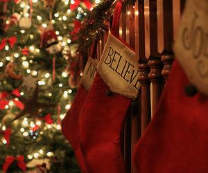 christmas, christmas lights, and house decorating image