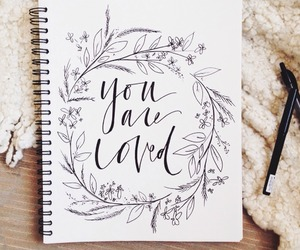 love, quotes, and drawing image