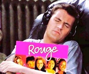 chandler bing and rouge image