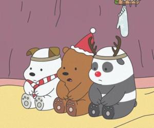 animation, panda, and we bare bears image