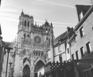 cathedral, france, and amiens image