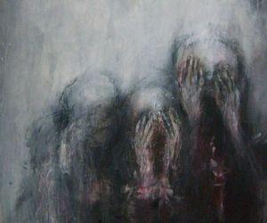 art, dark, and grunge image