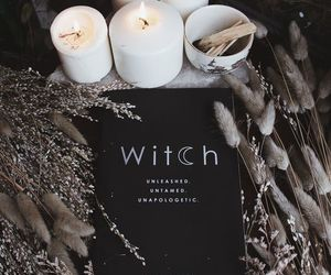 witch, witchcraft, and candle image