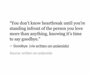 break up, couple, and goodbye image
