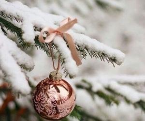 Christmas time and christmas tree image