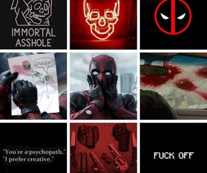 aesthetic, deadpool, and Marvel image