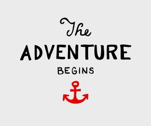 adventure, anchor, and text image
