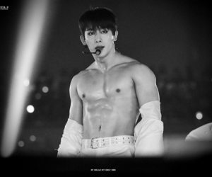 abs, kpop, and wonho image