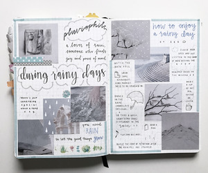 journal, diary, and bullet journal image