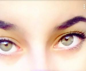 eye, green, and omnia image