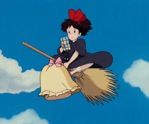 studio ghibli, kiki's delivery service, and 魔女の宅急便 image