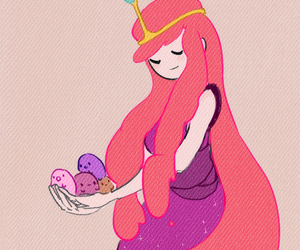 bubblegum, celine, and adventure time image