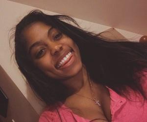 black, black woman, and brown skin image
