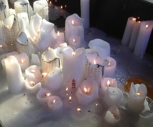 candle, aesthetic, and photography image
