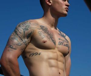 boy, Tattoos, and man image