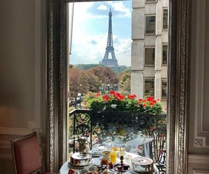 breakfast and paris image