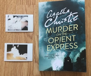 agatha christie, book, and cat image