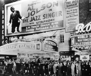 1920s, black and white, and theatre image