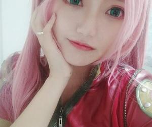 naruto, sakura, and naruto cosplay image