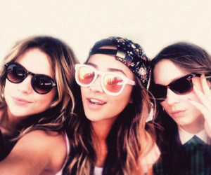 ashley benson, troian bellisario, and shay mitchell image