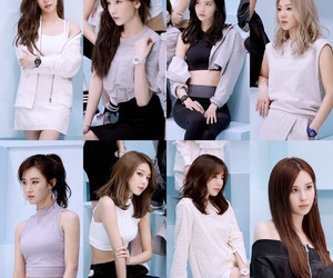 generation, snsd, and tiffany image