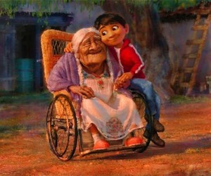 coco, disney, and movie image