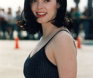 Rose McGowan, beauty, and brunette image