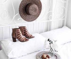 fashion, shoes, and hat image