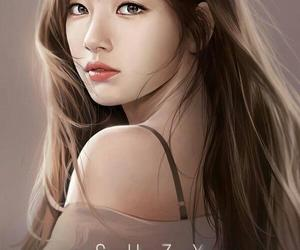 kpop, drawing, and suzy image