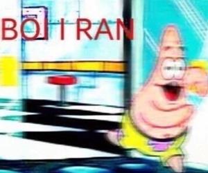 meme, spongebob, and patrick image