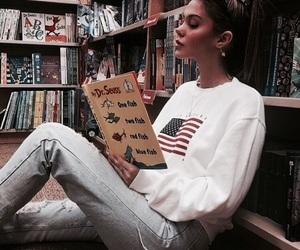 girl, sahar luna, and book image