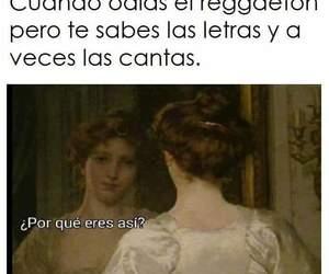 humor, reggaeton, and memes en español image