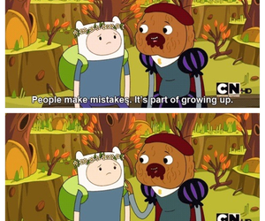 adventure time, finn, and quotes image