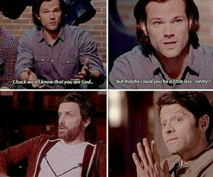 supernatural, lucifer, and dean image