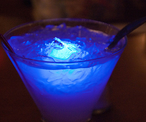 drink, alcohol, and blue image