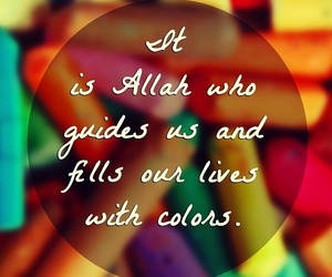 beauty, heart, and quran image