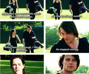 Dimitri, rose, and vampire academy image